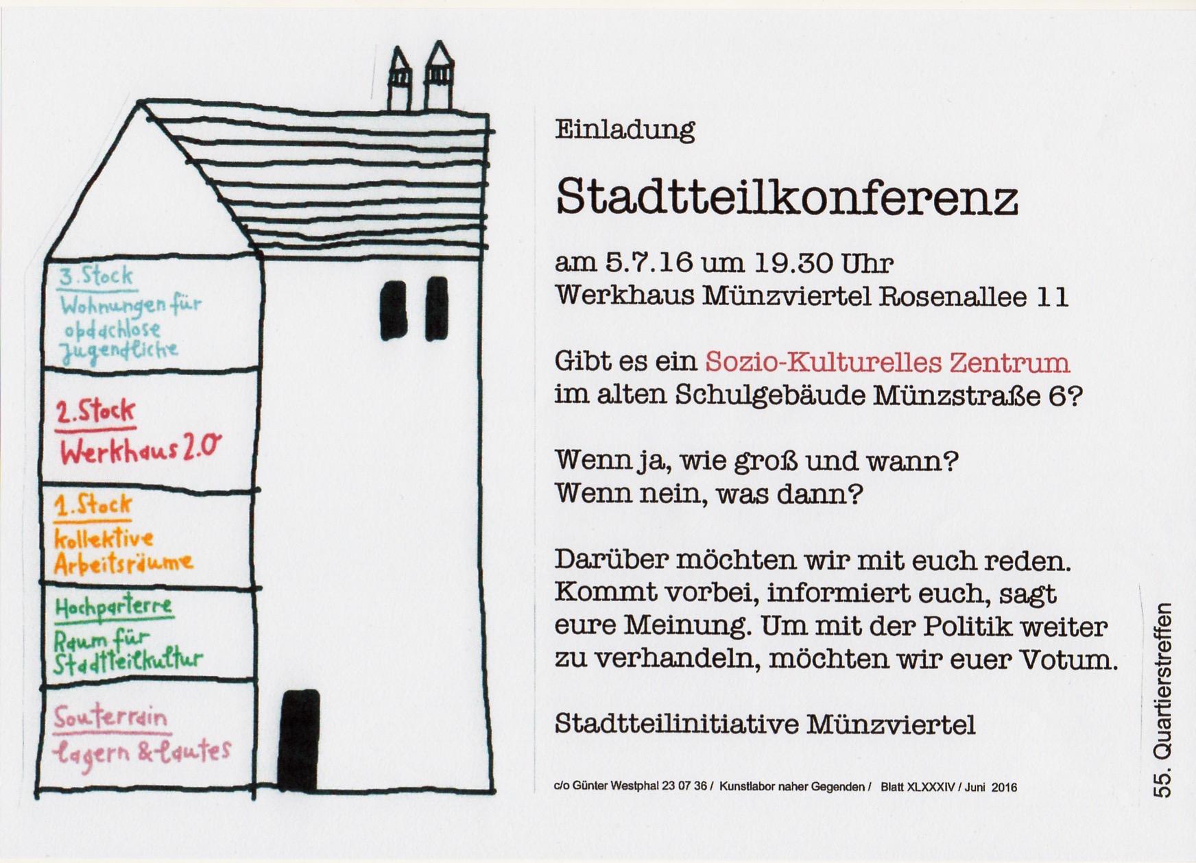 Plakat 55. Quartiertreffen II
