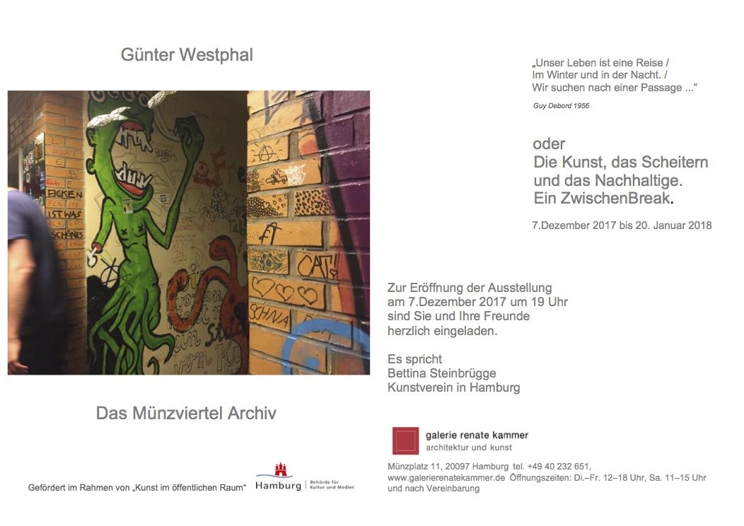 """Einladung zur Ausstellung """"Das Münzviertel Archiv"""" in die Galerie ..."""