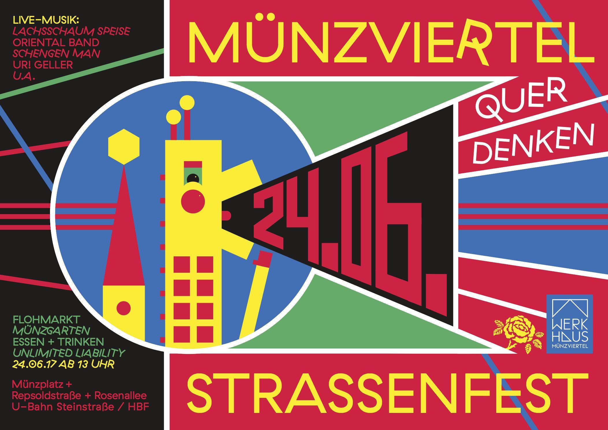 Der jährliche Höhepunkt im Münzviertel: Das Straßenfest – Münzviertel